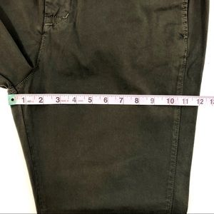 Vince Pants - Vince High-Rise Cropped Chino Pant In Olive NWT